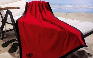 Вышивка на пляжном полотенце