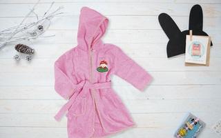Вышивка на детском флисовом халате