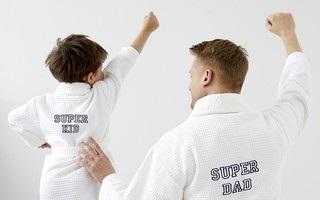 Вышивка на детском вафельном халате