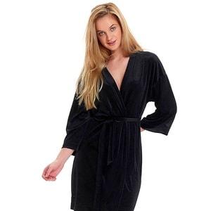 Вышивка на женском велюровом халате